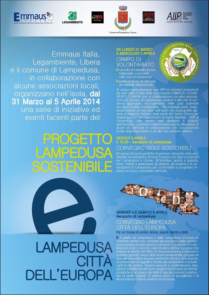 GENERALE INIZIATIVE LAMPEDUSA