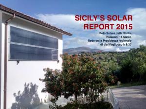 solar report